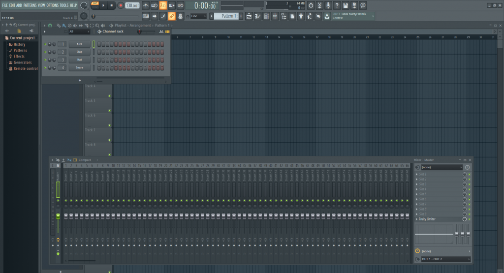 FL Studio 20 Image Line interface impression